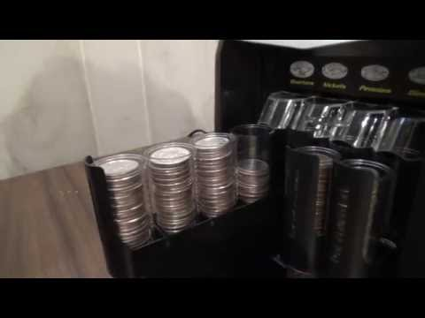 Royal Sovereign FS-44P Coin Sorter Counter in depth review and demonstration