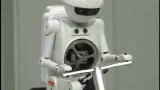 Murata Boy, the Robot that can Ride Bicycles