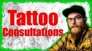 HOW DO TATTOO CONSULTATIONS WORK ?⚡? Why are they so important