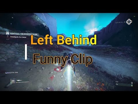 Left behind (funny clip)