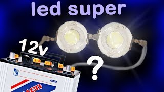 Hoe maak je een super helder 3 5V LED met 2 $ !! Selecteer weerstand voor gebruik op 12v batterij Alf