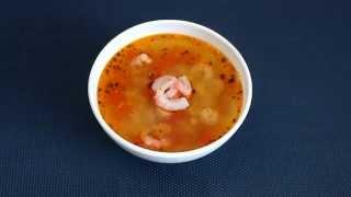 Рецепт приготовления супа с чечевицей и креветками в мультиварке VITEK VT-4213 GY