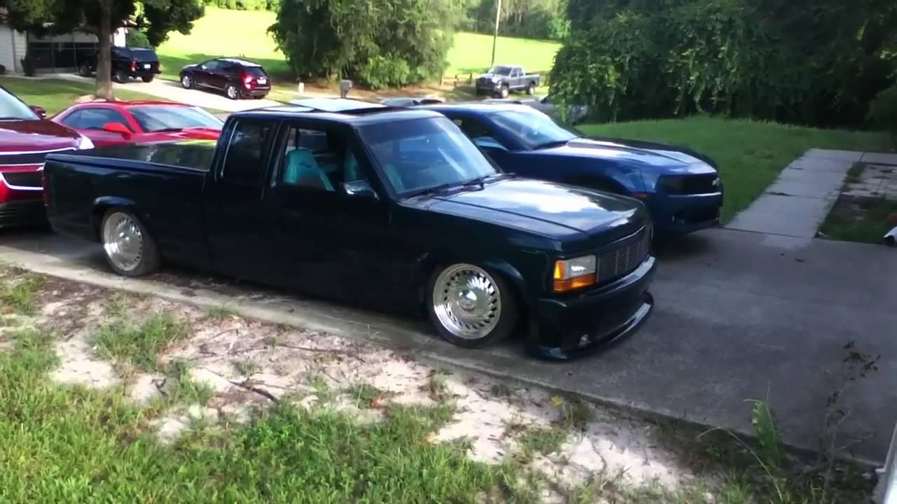 Bagged 1995 Dodge Dakota Youtube