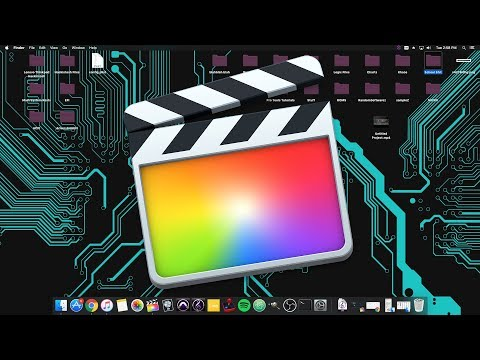 Final Cut Pro Tip! Easiest way to export/format videos! (2018)