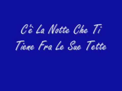 Certe Notti - Ligabue +TESTO