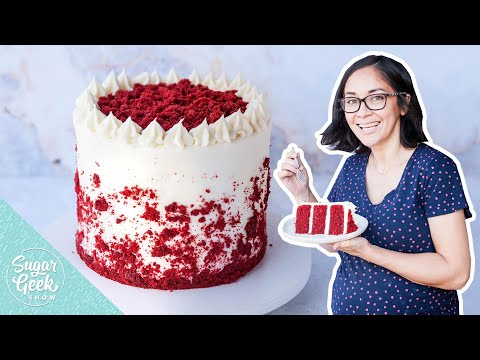 How To Make A REAL Red Velvet Cake From Scratch