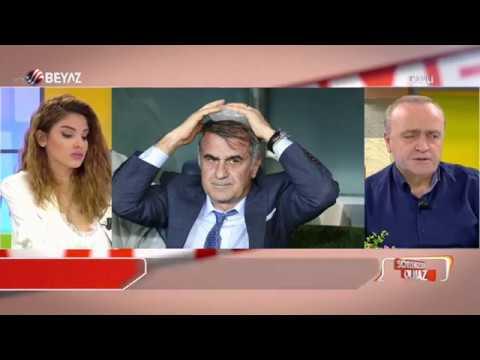 Fenerbahçe-Beşiktaş maçında ortalık karıştı! Şenol Güneş'in kafası yarıldı