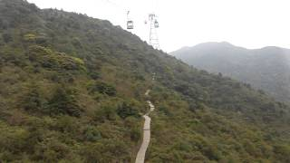 Lantau Island Cable Car, Hong Kong (HD)