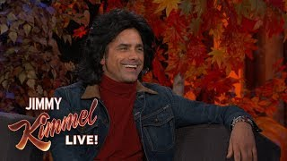 John Stamos on John Travolta and Chris Evans