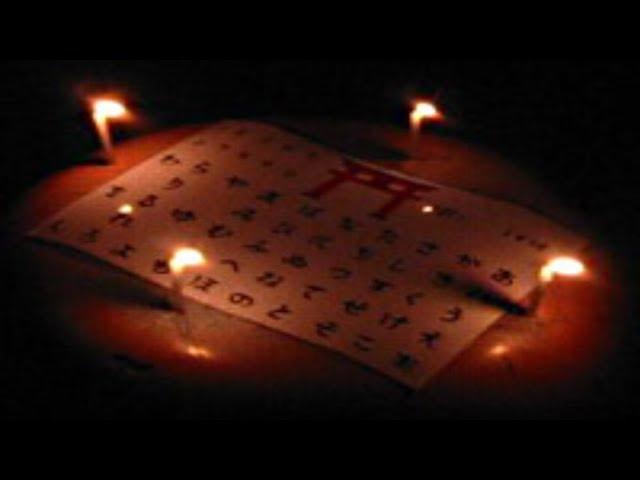 KOKKURI-SAN - Japanese Ouija Board Game - Playing Solo at 3AM