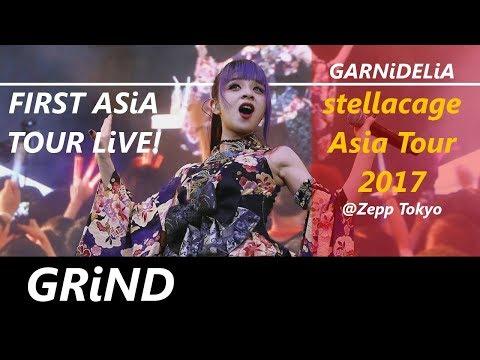 GARNiDELiA stellacage Asia Tour 2017 // LiVE!