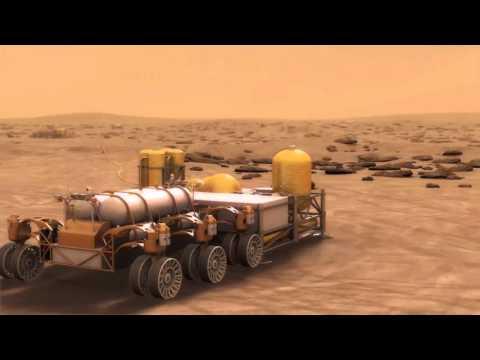 Human Mars Exploration - How Landing Sites Could Evolve   VIdeo