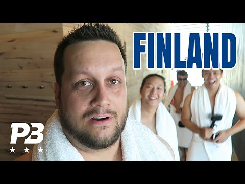 FINLAND VLOG - Naked and Afraid!