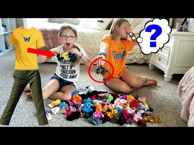 3 Scrunchies Outfit Challenge!