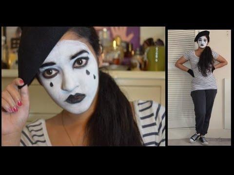 Halloween: Mime Artist - YouTube
