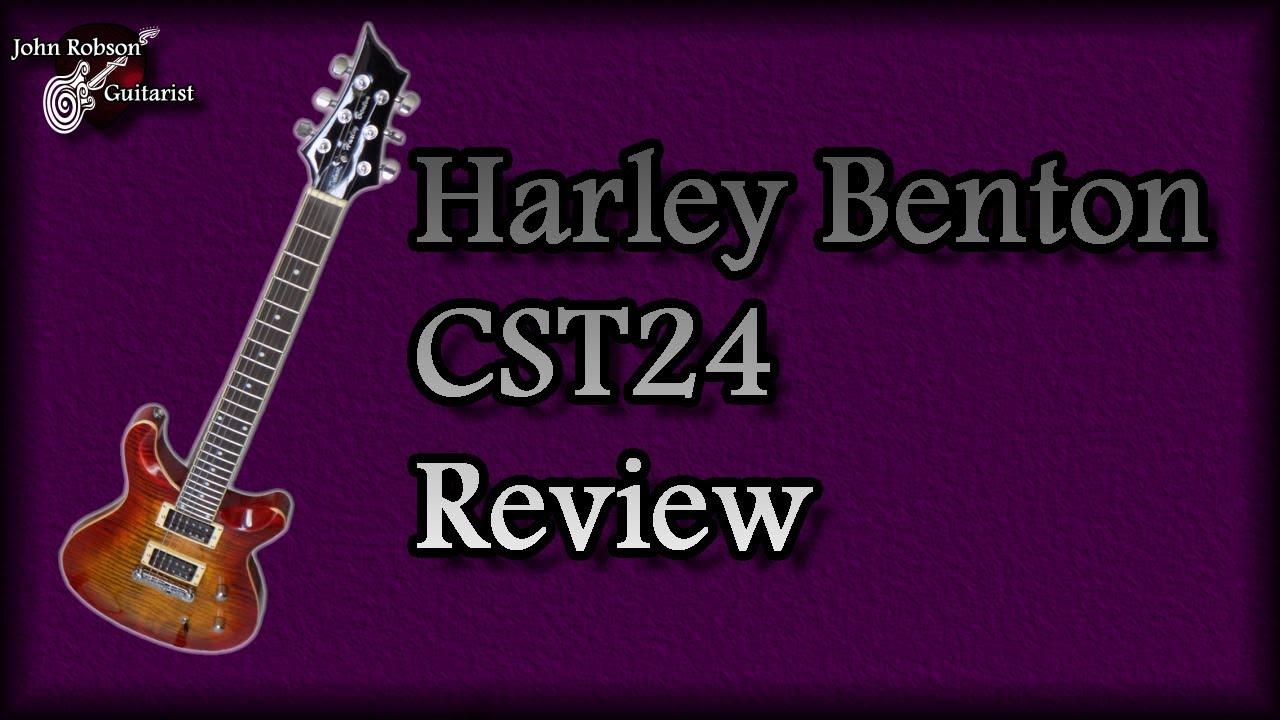 harley benton cst24 review youtube. Black Bedroom Furniture Sets. Home Design Ideas