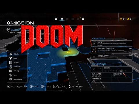 Doom 4 2016 part 2 - Find Yellow Access Card