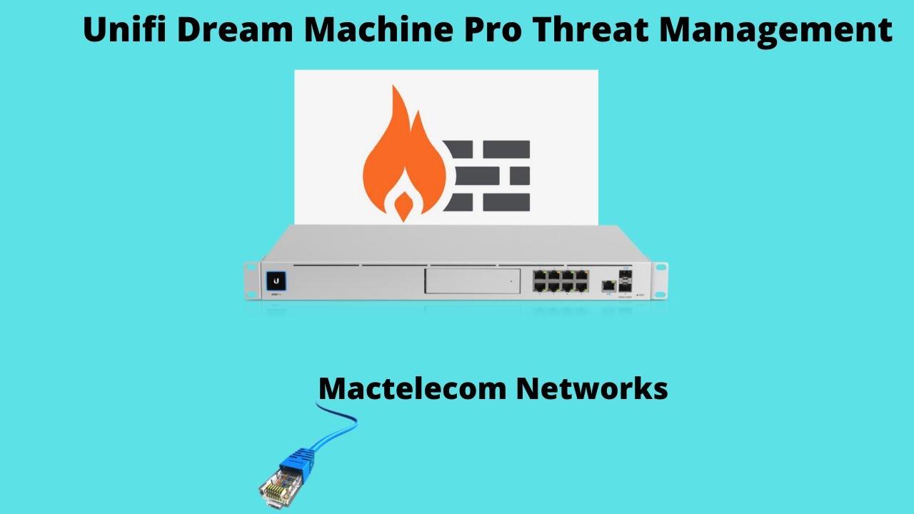 Unifi Dream Machine Pro Threat Management - YouTube