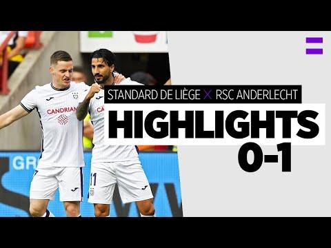 Standard Liege Anderlecht Goals And Highlights