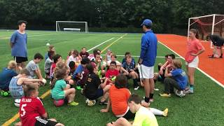 SUNY New Paltz Youth Soccer Camp 2018