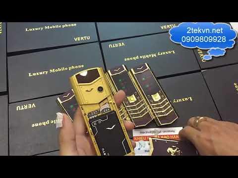 Review điện thoại Vertu v8 thời trang 2 sim giá rẻ