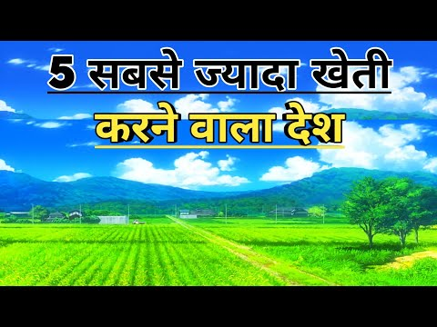TOP 5 AGRICULTURAL COUNTRIES || TOP AGRICULTURAL PRODUCING COUNTRIESS || AGRICULTURE