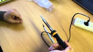 Электрический паяльник \ Electric Soldering Iron