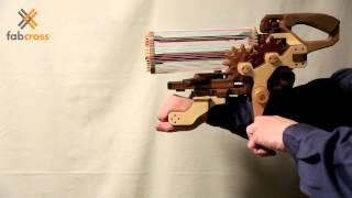 木の歯車工房 / 輪ゴム銃