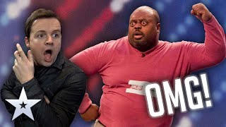 Antonio's EYE-POPPING Unforgettable Audition!  | Britain's Got Talent