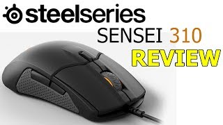 Steelseries Sensei 310 Gaming Mouse Review Ambidextrous eSports TrueMove3 Sensor