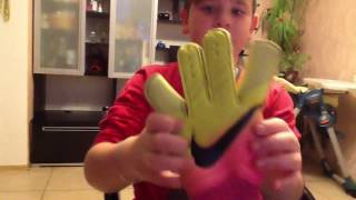 Вратарские перчатки nike vapor grip 3(, 2016-11-15T05:36:39.000Z)