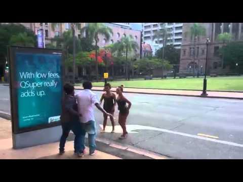 Fighting PNG Women in Aussie