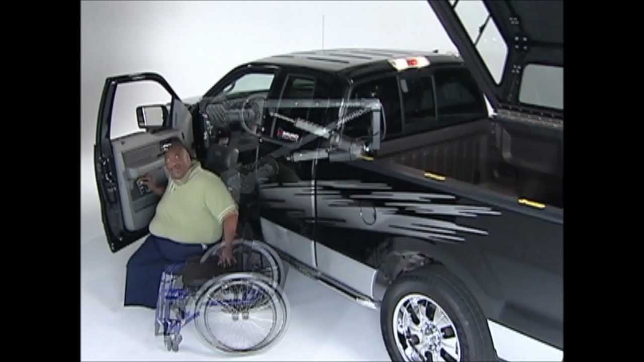 Pick Up Truck Solutions From B Amp W Handicap Equipment Youtube
