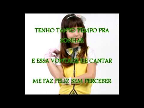 3bf5efcd49a86 Carrossel - Bom Dia - Karaokê Larissa Manoela by Studio B2 - YouTube