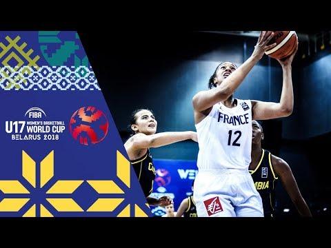 LIVE 🔴- France v Colombia - FIBA U17 Women's Basketball World Cup 2018