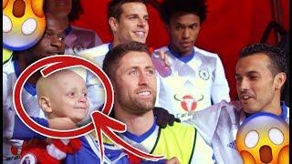 כשילדים פוגשים את גיבורי הכדורגל שלהם