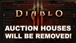 Diablo 3: Auction House Will Be Removed! - My Reaction & Analysis
