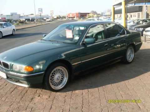 2001 BMW 7 SERIES 735 A T Auto For Sale On Trader South Africa