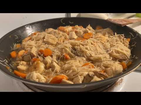 recette-wok-poulet-crevettes-|-lbec