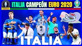EURO 2020 🏆🇮🇹 ITALIA CAMPEÓN en Wembley 🏴 La PELÍCULA de la Eurocopa 2021*