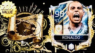 BIGGEST GOLDEN PROGRAM PACKS AND TREASURE CHAIN PACKS OPENING for Prime Icon Ronaldo in fifa mobile