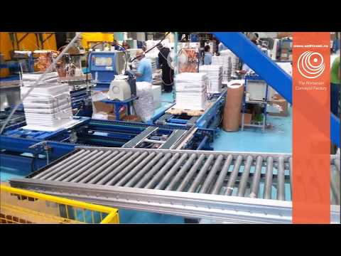 White goods assembly line - Designed and Produced by Self Trust Romania