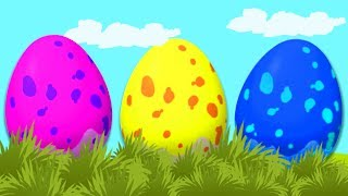 Egg Painting | Easter Special | WonderBalls | Cartoon Candy