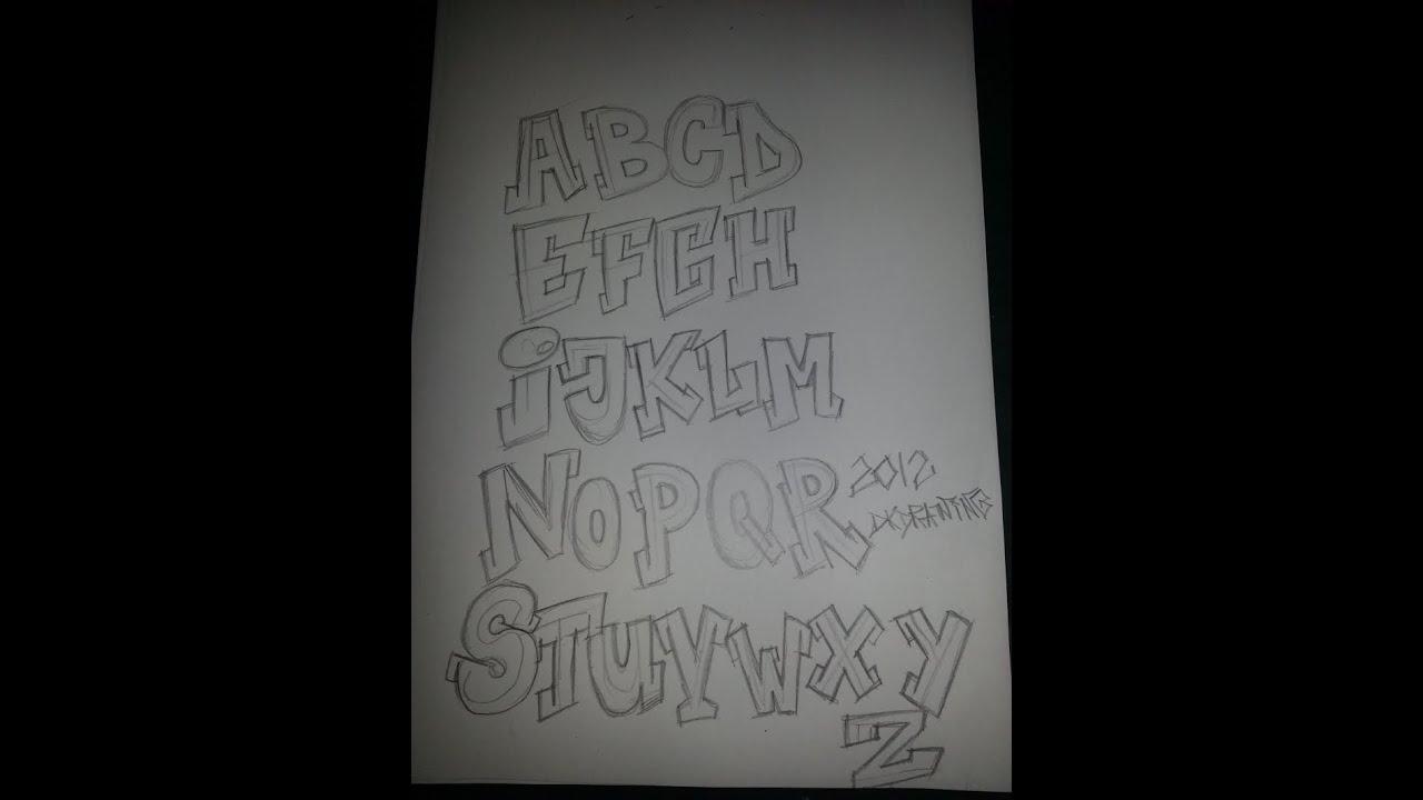 R Graffiti Letters Graffiti Alphabet ABC ...