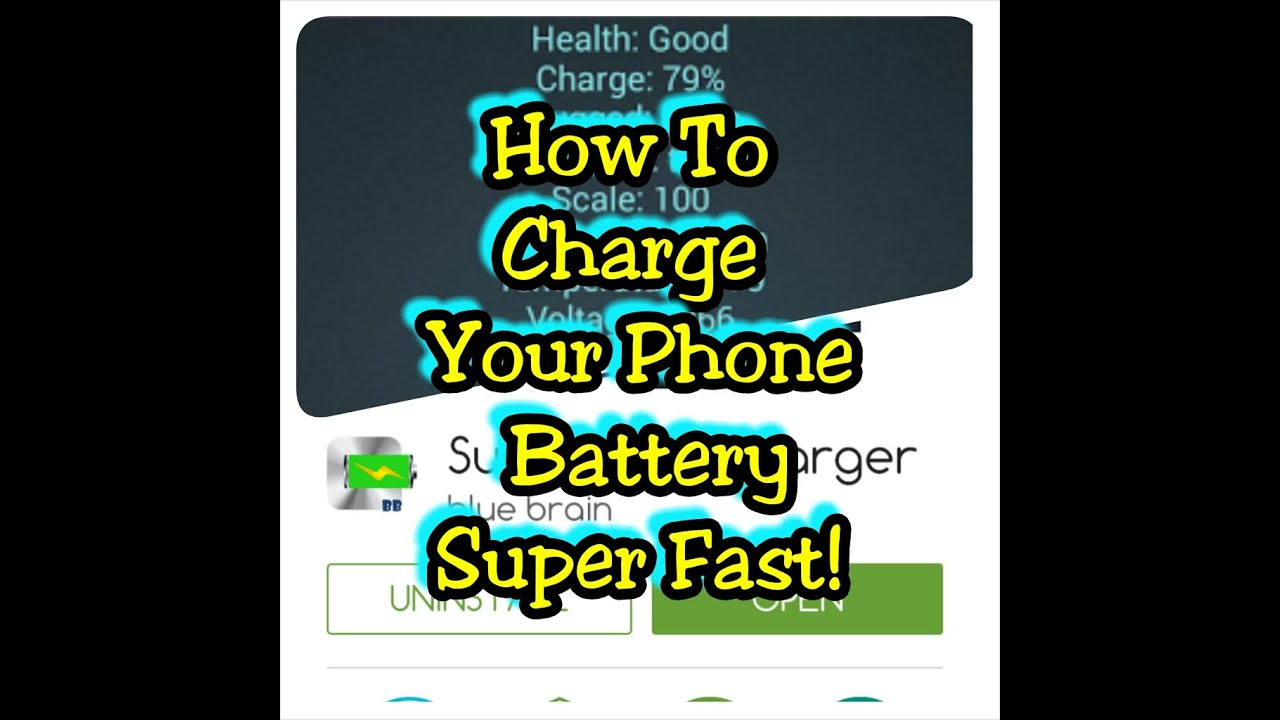 How to charge your phone quickly