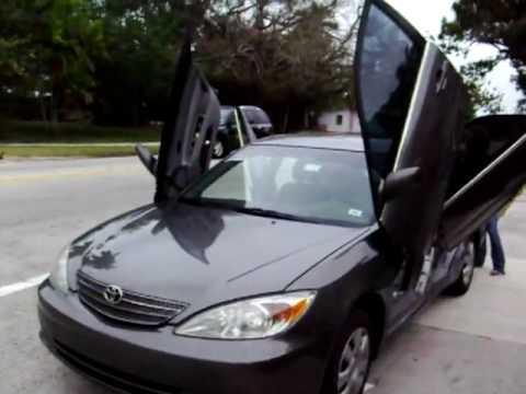 1st 03 Toyota Camry 4 Lambo Doors Youtube