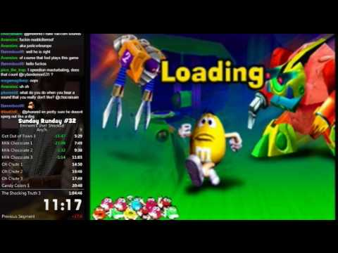 M&M's Shell Shocked Any% Speed Run in 1:02:45