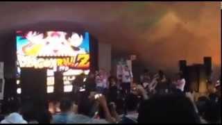 Dragón Ball Z Expo finaliza cantando