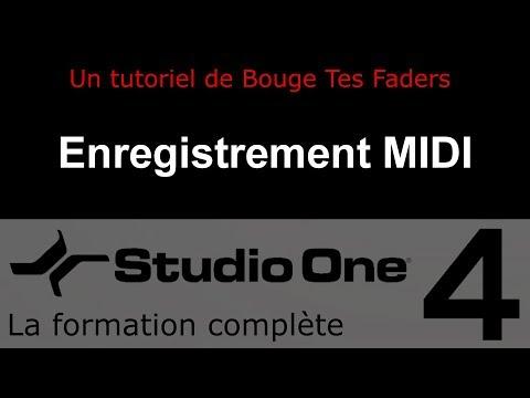 Formation Studio One 4 - D03: Enregistrement MIDI