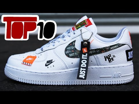 Top 10 Nike Just Do it Edition Shoes Of 2018